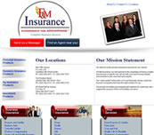 Minnesota Valley Technology Inc., website design for F&M Insurance Agency.  We also specialize in network support for small to medium size businesses.  Branch office connectivity with secure VPN technologies, content filtering to help reduce unwanted employee websurfing on company time, remote managment options, backup solutions, and more... so please call our office to make an appointment.